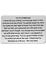 MAOFAED Father in Law Gift Step Father Gift Bonus Father Gift Thank You Gift Wedding Gift for Daddy