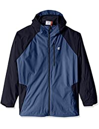Champion mens big Technical Ripstop With Fleece Inner Shell Jacket - Big Sizes