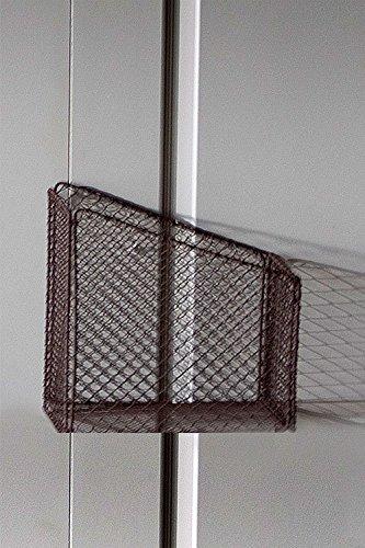 Vagabond Vintage, Vintage-Inspired Sturdy Woven Wire Magazine Rack