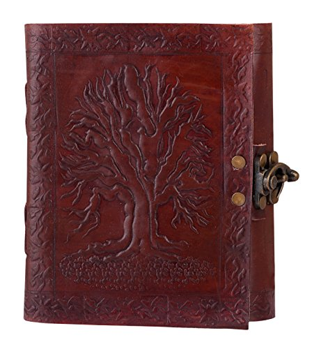 Adimani Handmade Leather Notebook Refillable Gift product image