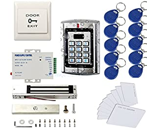 9. MENGQI-CONTROL Weatherproof Access Control System