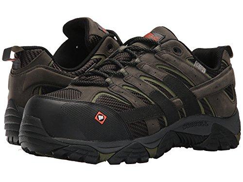Merrell Lavoro Moab 2 Vent Impermeabile Ct Mens Moda Sneaker Mx_j45313 Peltro