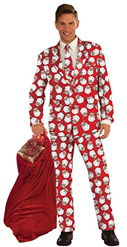 UHC Men's Santa Suit Holiday Theme Party Outfit Fancy Dress Christmas Costume