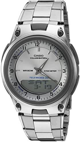 Casio Men's AW80D-7A Sports Chronograph Alarm 10-Year Battery Databank Watch