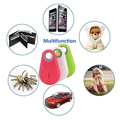GBD Smart Finder Bluetooth Locator Pet Tracker Alarm GPS Tracker Key Wallet Car Kids Pet Dog Cat Child Bag Phone Locator Selfie Shutter Wireless Seeker Anti Lost Sensor