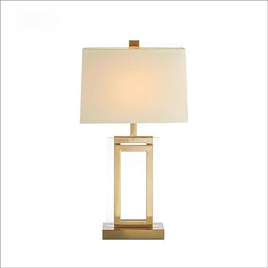 Amazon.com: E27 lámpara de mesa moderno estilo minimalista ...