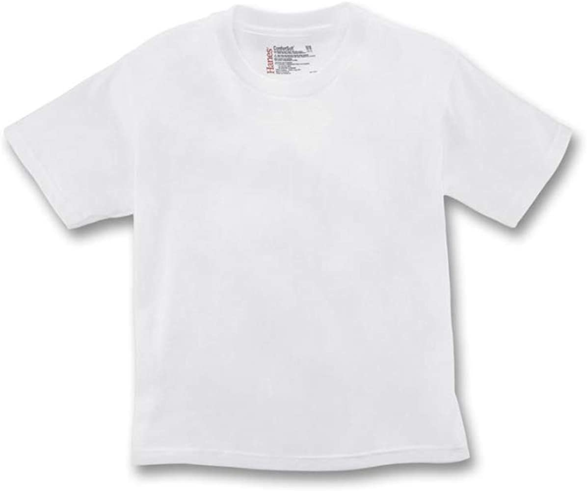 Pack Of 3 byHanes Hanes Big Boys Crew 34-36 Chest White, X-Large