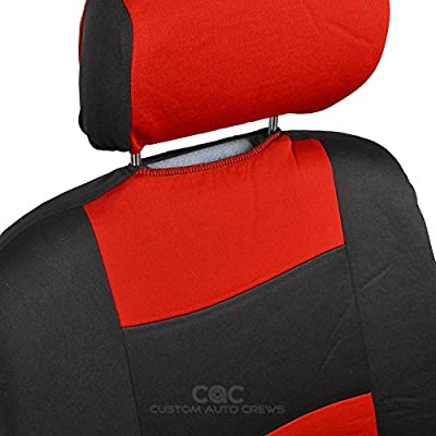 PolyCloth Seat Covers w/ Dual-Accent Rubber Mats
