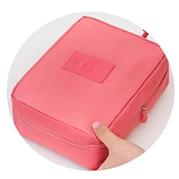 7fd4e0afb3c5 Amazon.com   Cosmetic Bag Wash Toiletry Make Up Organizer Storage Travel  Kit Bag Multifunction Ladies Bag Case   Beauty