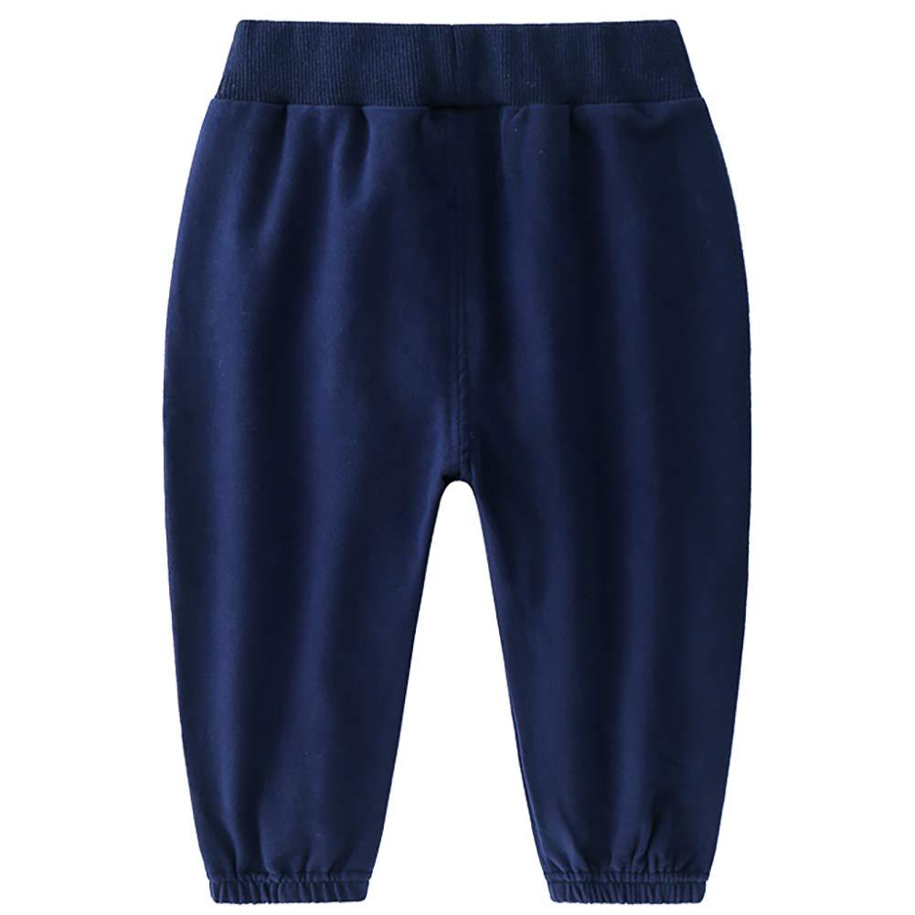 AMIYAN Kids Boys Girls Sweatpants Sport Pants Child Baby Spring Summer Baggy Harem Leisure Trousers
