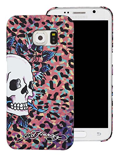 Ed Hardy Leopard (Ed Hardy Skull Color Leopard Samsung Galaxy S6 Case,)