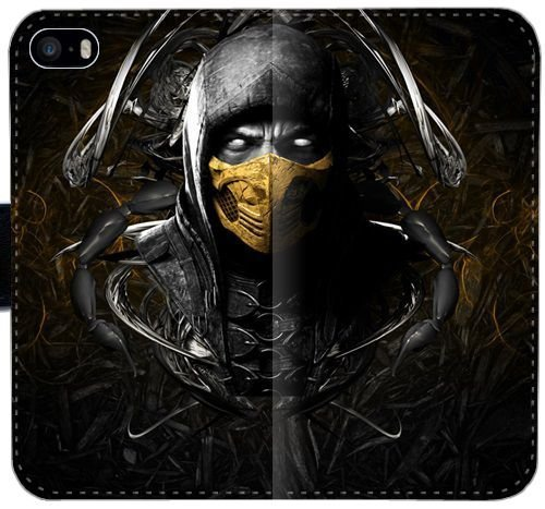 Mortal Kombat Scorpion Cara Máscara de Ninja Funda iPhone ...