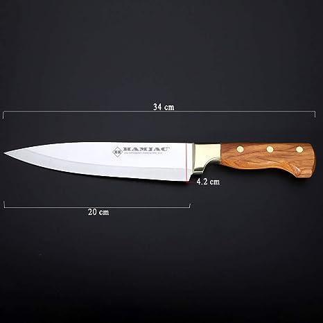 Amazon.com: Cuchillo de chef HAMJAC – Cuchillos de cocina de ...