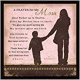Prayer..My Mom Wood Frame Plaque with Easel