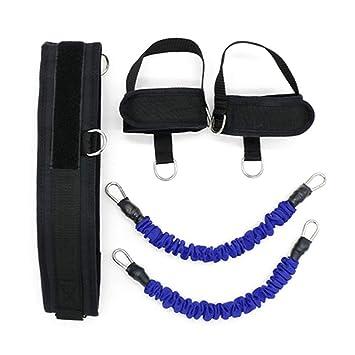 Leg Training Tension elastic rope explosive force puller leg resistance rope