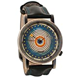 watch space - Ptolemaic Universe Model Astronomy Unisex Analog Watch