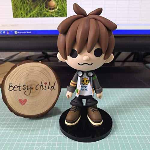- Pure Handmade cartoon bobbleheads - bobble head personalized figurine - Bobblehead Decorative Figurines Holiday gift