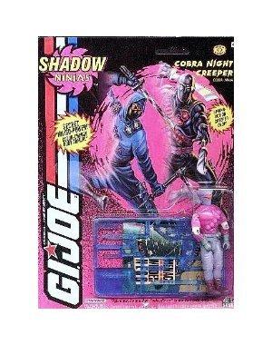 Original 3-3/4 GI Joe Shadow Ninjas Cobra NIGHT CREEPER Ninja Action Figure (1993 Hasbro)]()