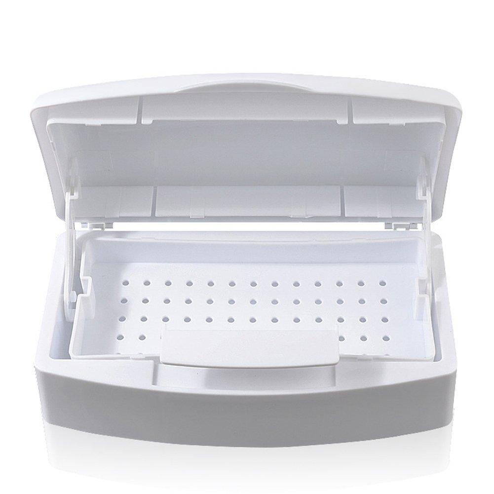 Yiwa Alcohol Sterilization Sterilizing Cleaning Box Sterilizer Tray for Nail Tool