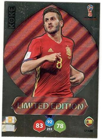 Adrenalyn Lote Cards Edición Limitada Spain XL Mundial Rusia 2018: Amazon.es: Juguetes y juegos