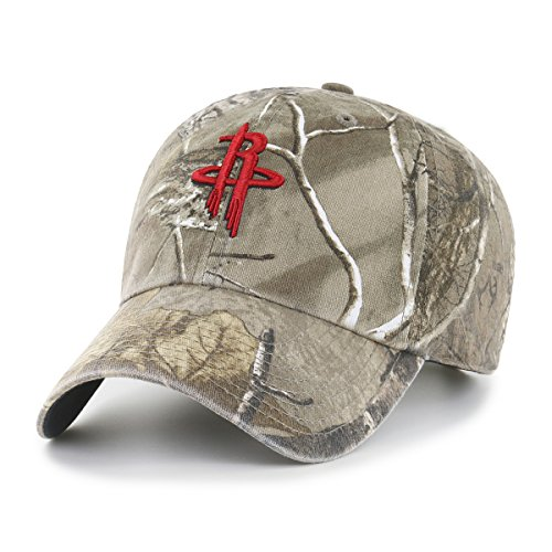 fan products of NBA Houston Rockets Realtree OTS Challenger Adjustable Hat, Realtree Camo, One Size