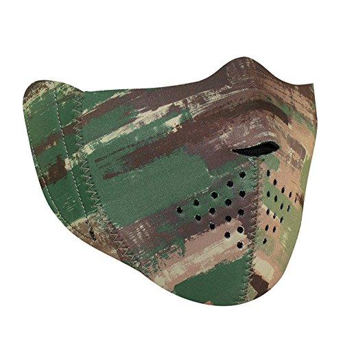 ZANheadgear WBNFM128H Unisex-Adult Modi-Face Accessory (Detachable Mask Neoprene Multi Brushed Camo)(Multicolor, One Size) by Zanheadgear (Image #2)