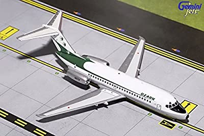 Gemini200 Ozark Airlines DC-9-15 (Delivery Livery) N971Z 1:200 Scale Airplane Model
