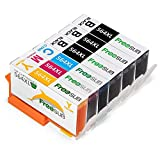 FreeSUB 4 Color Compatible Ink Cartridge Replacement For HP 564XL Ink Cartridge 6 Pack Used For HP Photosmart 5520 6520 6510 7510 7520 7515 C6380 Premium C309A C410a C310a Officejet 4620 Deskjet 3520