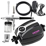 Adjustable Mini Air Compressor Kit Airbrush Spray Paint Cake Decoration Car Paint