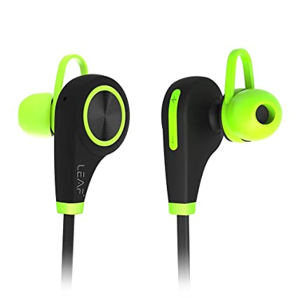 496104cc372 Image Unavailable. Image not available for. Colour: Leaf In-Ear Wireless Bluetooth  Earphones ...