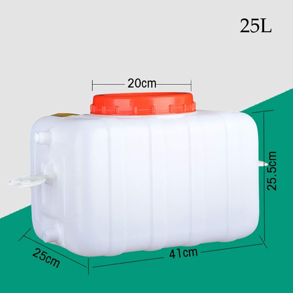 Barril De Agua Mineral Cubo De Pl/ástico Puro Contenedor De Agua para El Hogar Contenedor De Almacenamiento De Agua con Tapa Y Grifo juman634 Contenedor De Agua De 15//20 L