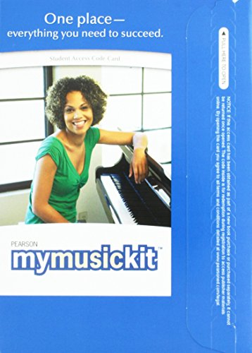 MyMusicKit without Pearson eText -- Valuepack Access Card
