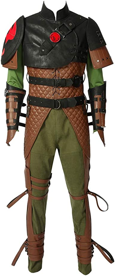 Amazon Com Cosplaydiy Men S Suit For How To Train Your Dragon 2 Hiccup Cosplay Costume Clothing