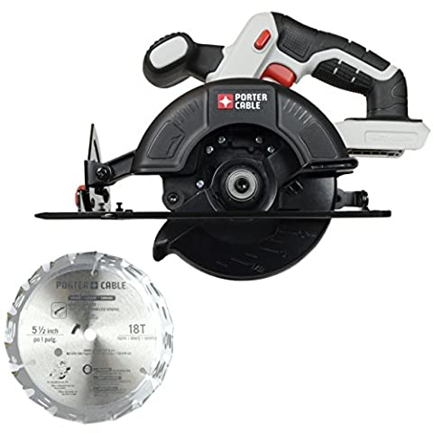 Porter Cable PCC661B 20V Lithium Bare Tool 5 1/2-Inch Circular Saw - Porter Cable Metal