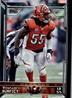 2015 Topps #99 Vontaze Burfict - Cincinnati Bengals (NFL Football Cards)