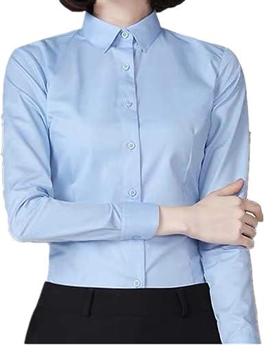 NOBRAND Camisa de manga larga para mujer