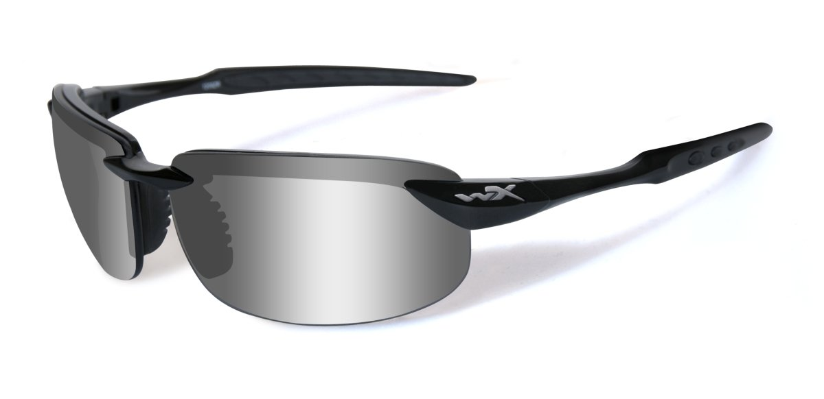 adefa35f98dd Wiley X Unisex's Wx Tobi Sunglasses, Gloss Black, Medium/Large:  Amazon.co.uk: Sports & Outdoors