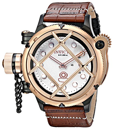 Invicta-Mens-16361-Russian-Diver-Analog-Display-Mechanical-Hand-Wind-Two-Tone-Watch