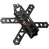 3K Carbon Fiber QAV210 Frame Kit V2 Mini FPV Drone Racing Quadcopter Fuselage