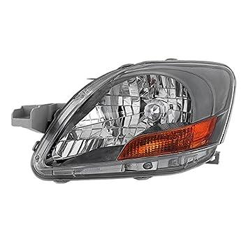 Driver Side -OEM Left Dont Fit 09-12 S Models Xtune HD-JH-TYA06-OE-L Headlight Toyota Yaris Sedan 06-12