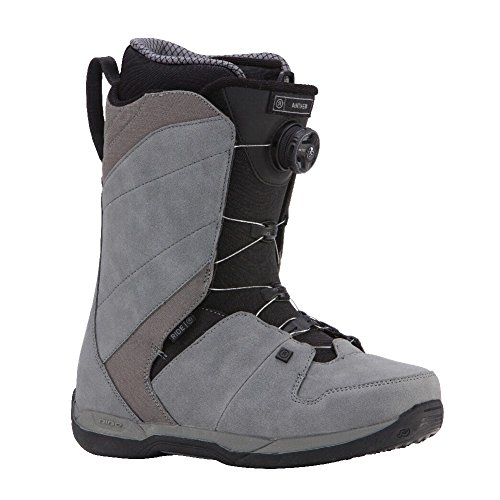 Ride Anthem 2018 Snowboard Boots - Men's Grey 9.5 (Ride Boots)