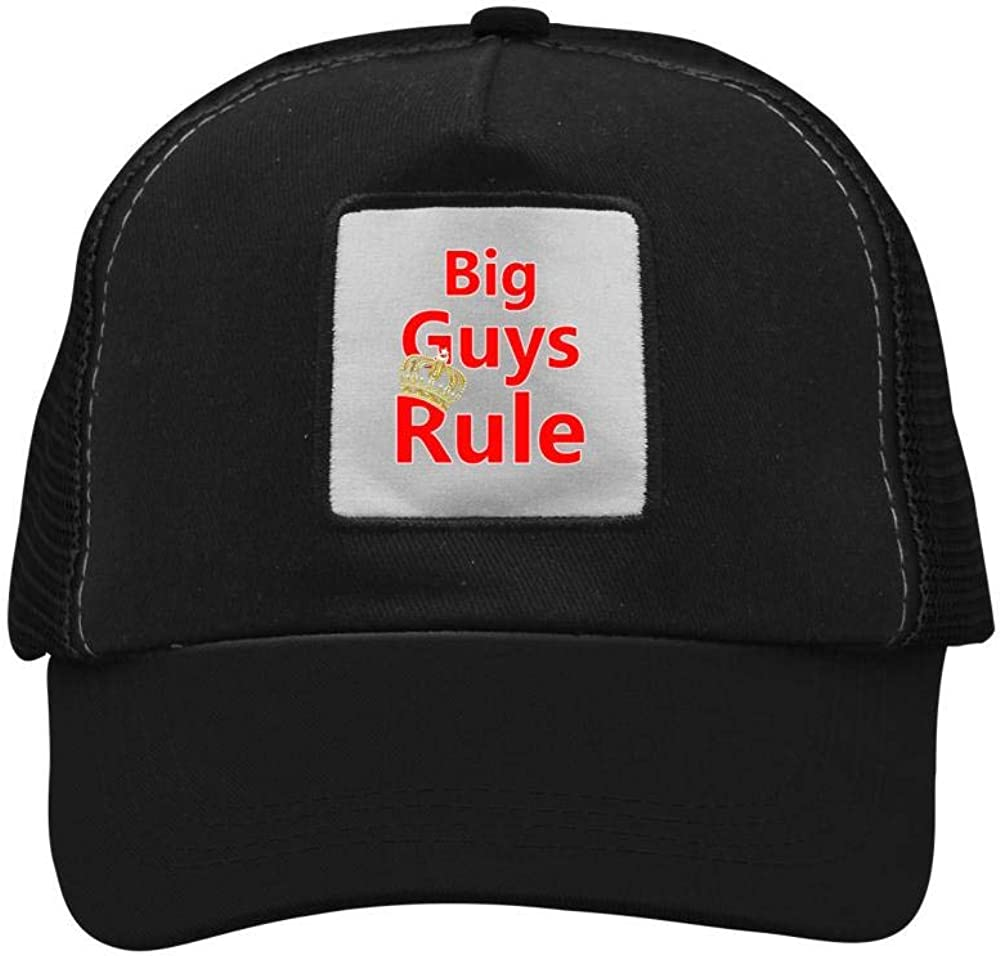 Mesh Cap Hat for Men Women Unisex Print Big Guys Rule