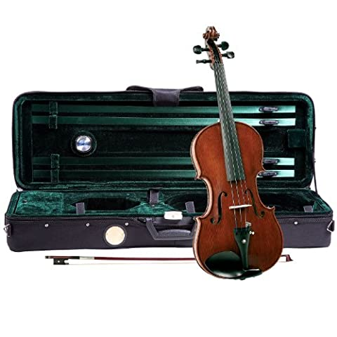 Cremona SV-1600 Master Series Violin Outfit - 4/4 Size (Violins For Girls)