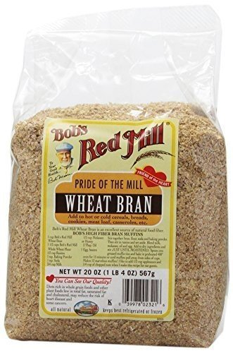 Wheat Bran Cereal - Bob's Red Mill Wheat Bran - 20 oz - 3 pk