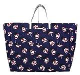 Gucci Canvas Blue Parasol Print Large Tote Handbag 286198 4160