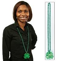 Amscan St. Patrick's Day ilumina el collar de trébol