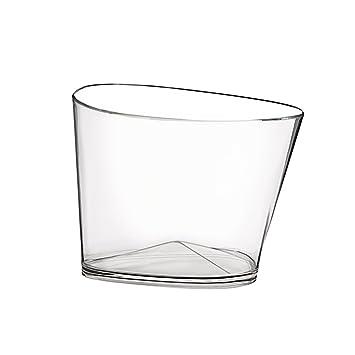 Compra Champañera (DOIMO Flair Spain Bowl de Plástico/Cubitera/enfriador de vino/champán Schale/Ponche Carcasa/transparente/para 4 botellas en Amazon.es