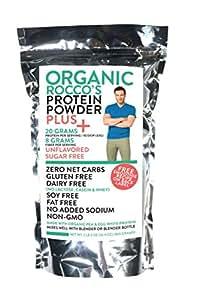 Rocco DiSpirito Organic Protein Powder, Unflavored, 2.2 Pound