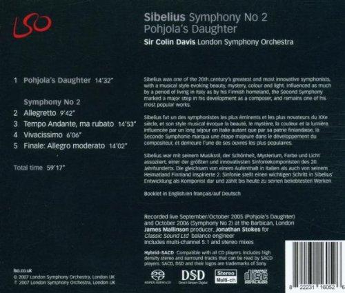 Sibelius: Symphony No.2, Pohjola's Daughter