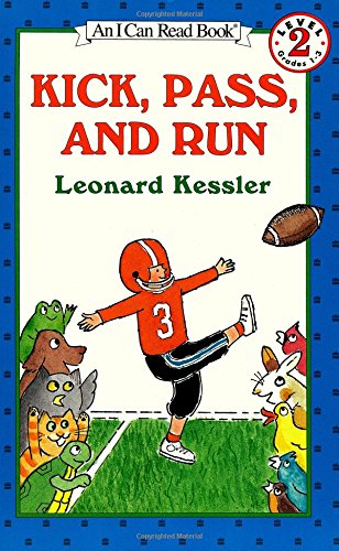 Kick, Pass, and Run (I Can Read Level 2)